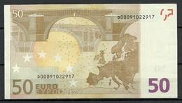 ESTONIA Estland 50 EURO 2002 D-Serie Banknote RO51B2 - EURO