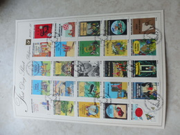 Fds Tintin 2007 Parfait Etat Sheet Kuifje - Belgique