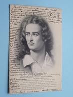 Johann-Christophe-Friedrich Von SCHILLER  Poête Né Marbach 1759-1805 ( Heintz-Jadoul ) Anno 1903 ( Zie Foto Details ) ! - Ecrivains