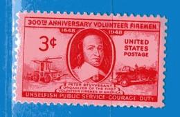 (Mn1) Stati Uniti* - 1948.- Corps Des Pompiers Volontaires - Yvert. 521. Mn - Avec Charnière - Nuovi. - Stati Uniti