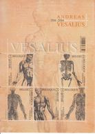 2014 Belgium Anatomy Vesalius Health Complete Sheet MNH  @ 85% Of FACE VALUE - Gesundheit