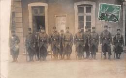 Chaumont (52) - Groupe De Soldats - Carte Photo Militaire Militaria - Chaumont