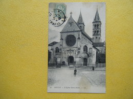 MELUN. L'Eglise Notre Dame. - Melun