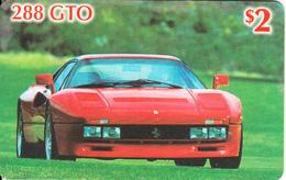 USA - Ferrari 288 GTO, US Prepaid Card $2, Mint - Cars