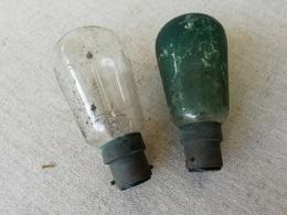 2 Vieilles Ampoules De Collection, OSRAM, éclairage D'intérieur - Other Collections