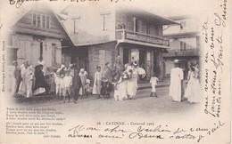 CAYENNE Carnaval 1903 Dos Simple - Cayenne