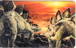 USA - Prehistoric Animals, US Prepaid Card 10 Units, Mint - Phonecards