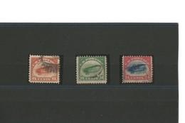 USA Airmail N° 1 à 3 Oblitérés - 1a. 1918-1940 Afgestempeld