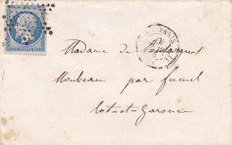 753-  NAPOLEON 14  -   PARIS  A  FUMEL - Postmark Collection (Covers)