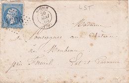 753-  NAPOLEON 14  -   DIGOIN   A  FUMEL - Postmark Collection (Covers)
