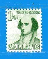 (Mn1) Stati Uniti * - 1967-1968.- Américains-Albert Gallatin. - Yvert. 817. Mn - Avec Charnière - Nuovi. - Stati Uniti