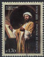 Portugal 2013 Oblitéré Used Qanûn Cânone De Avicena Canon De Avicenna SU - Usati