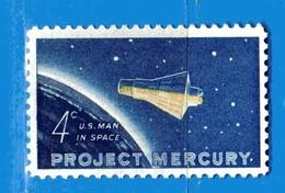 (Mn1) Stati Uniti ** - 1962.- Capsule Mercury. - Yvert. 725. MNH **  - Nuovi.  Vedi Descrizione. - Stati Uniti
