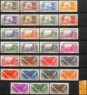 [837614]TB//**/Mnh-c:36e-France (colonies) Océanie 1939 - Tb Lot **/mnh De La Série - Océanie (Établissement De L') (1892-1958)