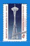 (Mn1) Stati Uniti ** - 1962.- Tour Space. - Yvert. 729. MNH **  - Nuovi.  Vedi Descrizione. - Stati Uniti