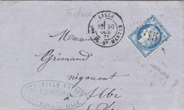 767-  CERES 60  - LILLE  A  ALBI - Postmark Collection (Covers)