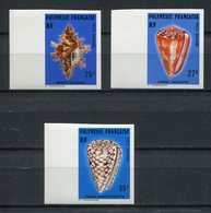 Polinesia Francesa 1977. Yvert A 114-6 Imperforated ** MNH. - Sin Dentar, Pruebas De Impresión Y Variedades