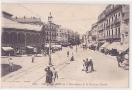 CPA - MONTPELLIER - 1866. Place De L'observatoire Et Le Nouveau Marché - Montpellier
