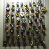 Lot 62 Old Pins - Almost All Sports Club Emblems - Lots