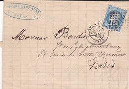 803-  CERES 60  -  ROUEN  A  PARIS - Postmark Collection (Covers)