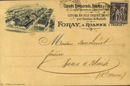 42 - ROANNE / FORAY COTONS EN FILS / A 462 - Roanne