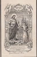 Antonius Franciscus Bruneel-priester-ingelmunster 1808-brugge 1862 - Devotion Images
