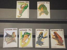 SURINAME - 1981 RANE 6 VALORI - NUOVI(++) - Suriname
