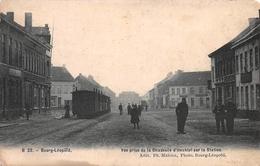 Vue Prise De La Chaussée D'Hechtel Sur La Station Leopoldsburg - Leopoldsburg