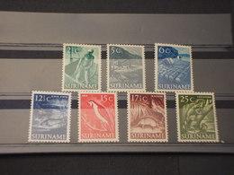 SURINAME - 1954 PITTORICA  7 VALORI - NUOVI(++) - Suriname