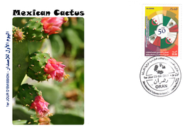 DZ Argelia 1712 FDC Flora Cactus Mexicano Naturaleza Plantas Las Flores - Cactus