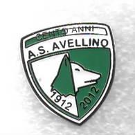 100 Anni AS Avellino Calcio Distintivi FootBall Soccer Spilla Pins Italy - Football