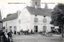 Ste Sabine Un Coin De La Place - France