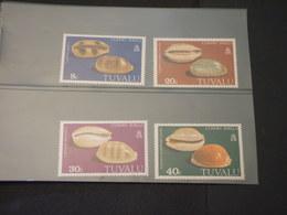 TUVALU - 1980 CONCHIGLIE 4 VALORI - NUOVI(++) - Tuvalu
