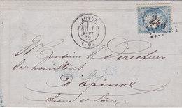 806-  CERES 60  -  AUTUN  A  EPINAL - Postmark Collection (Covers)