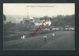 Hamoir - Château Des Fourneaux. Carte Animée, Le Travail Aux Champs. - Hamoir