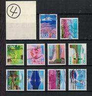Japan 2018.03.02 My Tourney Stamp Series 3rd (used)④ - 1989-... Emperador Akihito (Era Heisei)