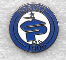 SSD Portici Calcio Distintivi FootBall Soccer Spilla Pins Italy - Football