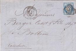 814-  CERES 60  -  AVIGNON  A  BOLLENE - Postmark Collection (Covers)