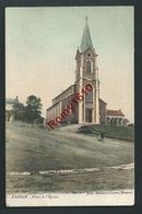 Hamoir - Place De L'Eglise. Carte Animée En Couleur - Hamoir