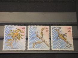 SOMALIA - 2001 IPPOCAMPI 3 VALORI - NUOVI(++) - Somalia (1960-...)