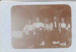AK Rumänien - 4 Rumänische Jungfrauen Mit Der Mutter - Ca. 1915  (41821) - Rumänien