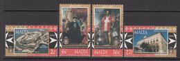 1999 Malta Knights Hospitalier Complete Set Of 4 MNH - Malta