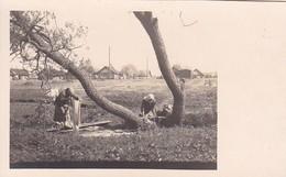 AK Foto Polen - Polnische Wäscherinnen Hinter Der Front - Ca. 1915 (41823) - Polen