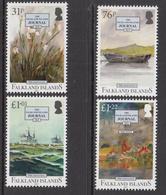 2017 Falkland Islands  Falkland Journal Complete Set Of 4 MNH  @ FACE VALUE - Falkland Islands