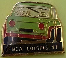 Pin's RALLYE - SIMCA RALLYE 2 - JENCA LOISIRS 41 - Rallye
