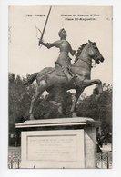 Paris: Statue De Jeanne D'Arc, Place Saint Augustin (19-1043) - Arrondissement: 08
