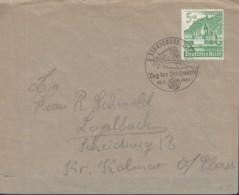 DR  753 EF Auf Brief Mit Sonderstempel: Strassburg Tag Der Briefmarke 12.1.1941, Edelweiß, Eispickel - Allemagne