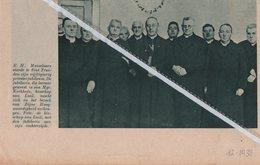 ST. TRUIDEN..1938.. E.H. MUIZELAARS VIERDE ZIJN 50 JARIG PRIESTERJUBILEUM - Old Paper
