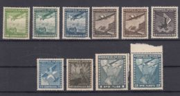Chile 1934 Airmail Mint Never Hinged Pieces - Chile