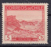 Chile 1936 Mi#220 Mint Never Hinged - Chile